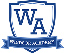 Windsor Academy Logo Links to homepage