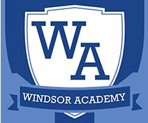 Windsor Academy Logo Links to homepage