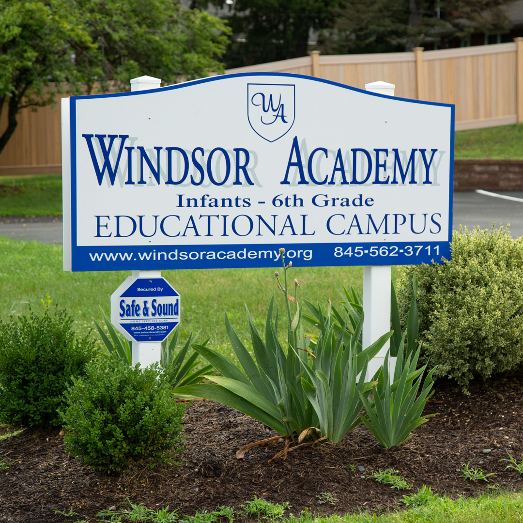 Windsor Academy Sign