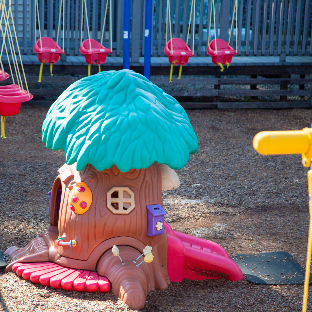 Treehouse in the Infant/Toddler playground