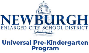 City of Newburgh Enlarged School District Universal Pre-kindergarten Program logo links to website